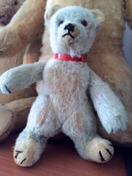 RARE MINT GREEN 1930'S BABY CHAD VALLEY BEAR