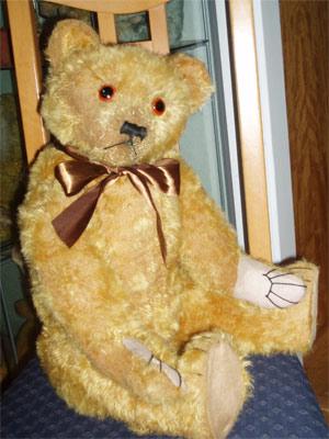 British terry bear